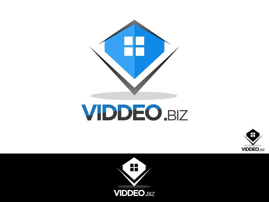 Kilpailutyö #22 kilpailussa Design a Logo for viddeo.biz
