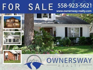 #15 for Ownersway real estate yard sign by AleksandarPers