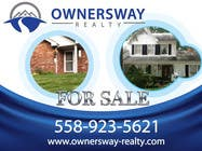 Contest Entry #18 for Ownersway real estate yard sign
