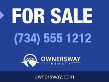 #21 for Ownersway real estate yard sign by Martinmex