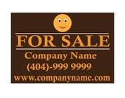 Advertisement Design Kilpailutyö #40 kilpailuun Ownersway real estate yard sign