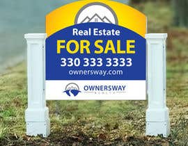 #20 for Ownersway real estate yard sign af NamalPriyakantha