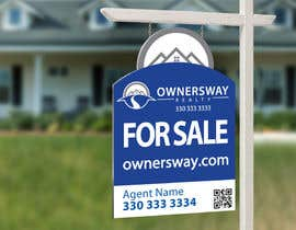 #46 for Ownersway real estate yard sign af NamalPriyakantha