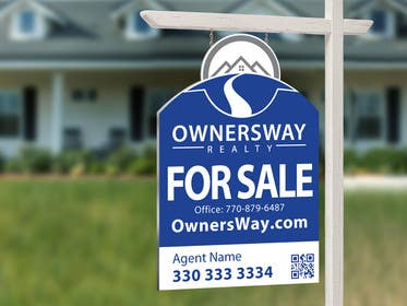 #49 for Ownersway real estate yard sign by NamalPriyakantha