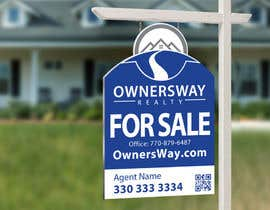 #49 for Ownersway real estate yard sign af NamalPriyakantha