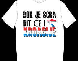 #33 for Design a Croatian fan T-shirt af clementalwin
