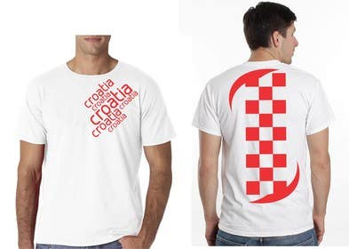 #29 para Design a Croatian fan T-shirt por eltorozzz