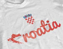 #40 para Design a Croatian fan T-shirt por MaynardDesign