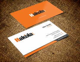 #4 untuk Design letterhead and business card. oleh ezesol