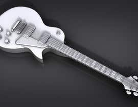#6 for Autodesk Maya 3D Model an Epiphone Guitar af vikasjain06
