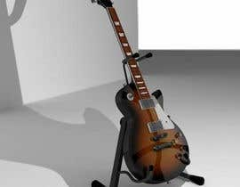 #3 for Autodesk Maya 3D Model an Epiphone Guitar af rshalder90