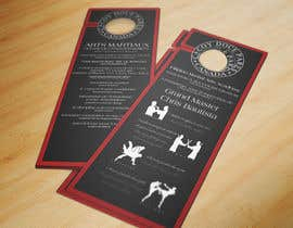 #4 para Design a door hanger/brochure for a Filipino Martial Arts dojo in Montreal por rmissin