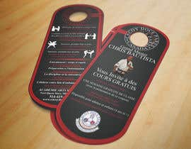 #17 cho Design a door hanger/brochure for a Filipino Martial Arts dojo in Montreal bởi rmissin