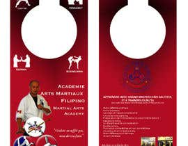 #14 cho Design a door hanger/brochure for a Filipino Martial Arts dojo in Montreal bởi CCARIUSE