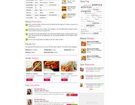 #24 for Recipe Website by ProliSoft
