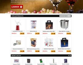 #3 for Design a Website Mockup for Magento e-shop af suryabeniwal