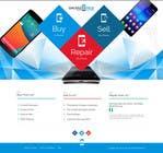 Graphic Design Kilpailutyö #73 kilpailuun Design a Website Mockup for a Mobile Device Company