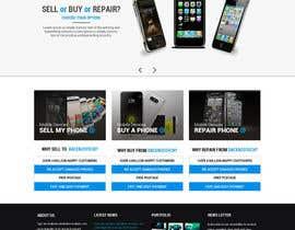 ssnkri tarafından Design a Website Mockup for a Mobile Device Company için no 38