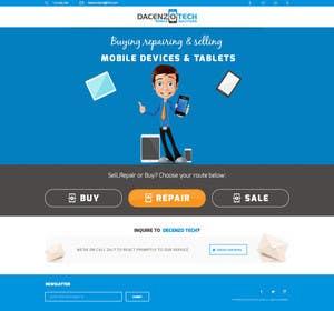 ameet4u tarafından Design a Website Mockup for a Mobile Device Company için no 15
