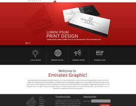 nº 3 pour Design a Home Page Mockup for my current website par joseyde01