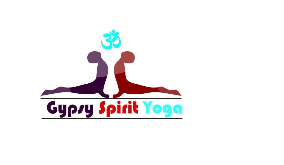 Kilpailutyö #27 kilpailussa Logo for Gypsy Spirit Yoga
