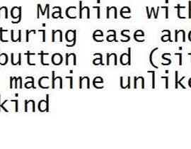 jeffnelshabong tarafından Tagline for promoting my washing machine için no 30