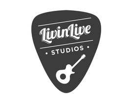#111 para Design a Logo for LivinLIveStudios Musical Recording Studio por JoGraphicDesign