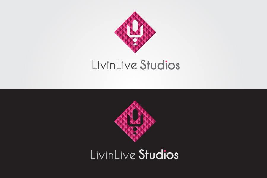 Bài tham dự cuộc thi #                                        93                                      cho                                         Design a Logo for LivinLIveStudios Musical Recording Studio