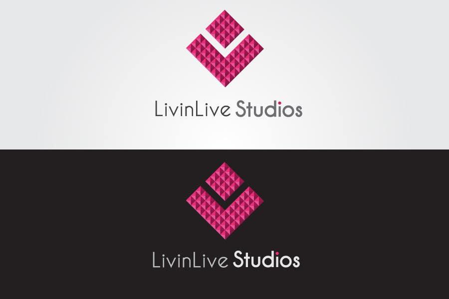 Bài tham dự cuộc thi #                                        94                                      cho                                         Design a Logo for LivinLIveStudios Musical Recording Studio