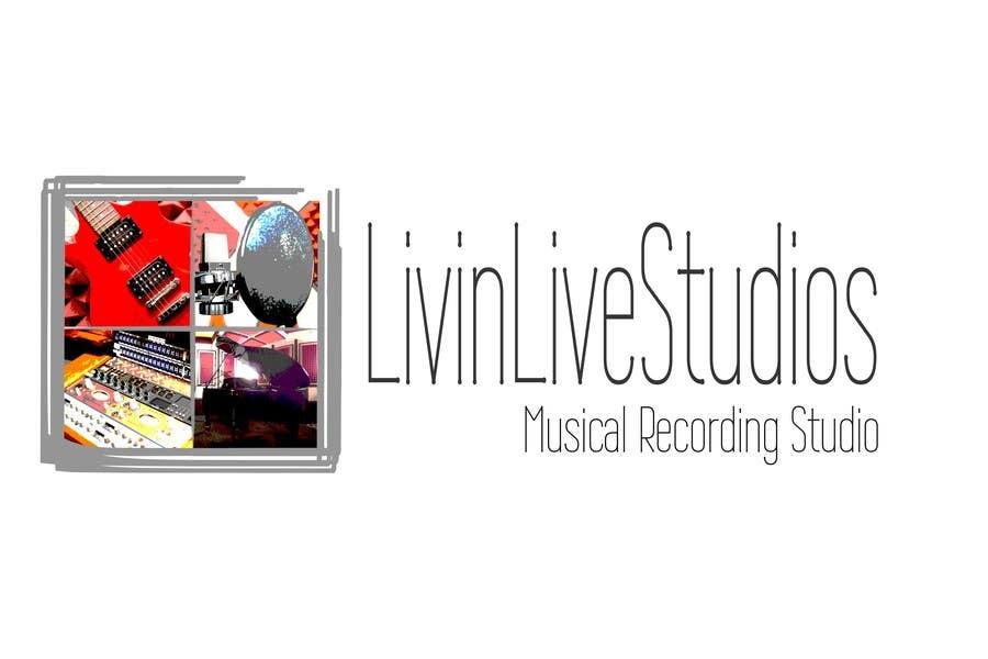 Bài tham dự cuộc thi #                                        173                                      cho                                         Design a Logo for LivinLIveStudios Musical Recording Studio