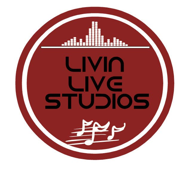 Bài tham dự cuộc thi #                                        89                                      cho                                         Design a Logo for LivinLIveStudios Musical Recording Studio