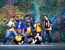 #62 untuk Photoshop Background for Band Publicity Photo oleh bonmat1