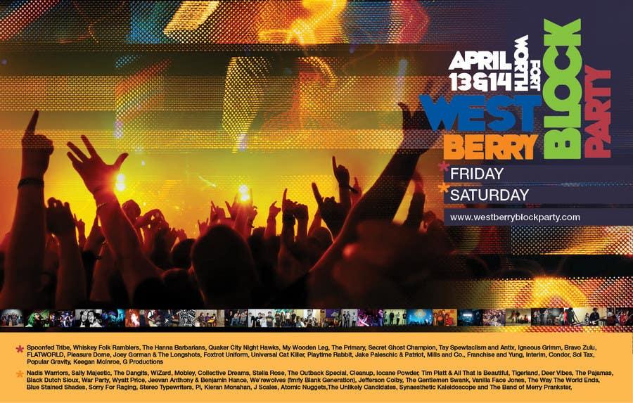 Конкурсная заявка №13 для Poster Design for 2 Day Music Festival