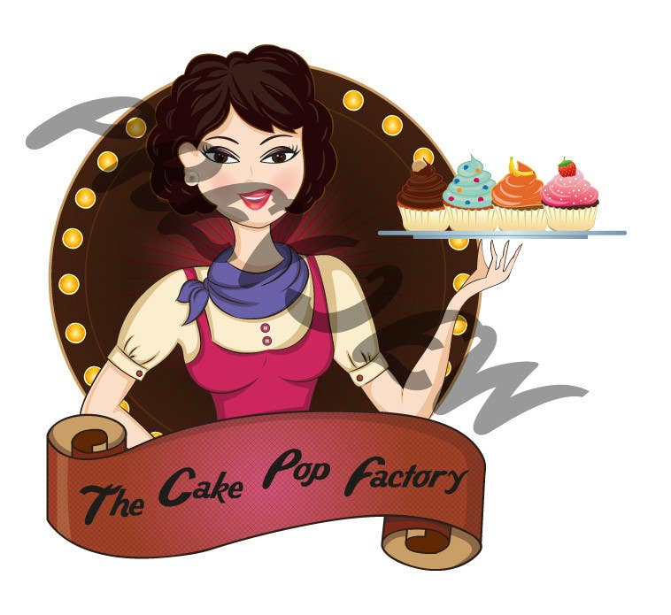 #118 for Logo Design for The Cake Pop Factory by SWP87