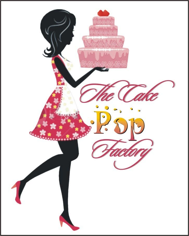 #111 for Logo Design for The Cake Pop Factory by Djbaba