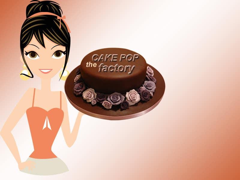 Penyertaan Peraduan #25 untuk Logo Design for The Cake Pop Factory
