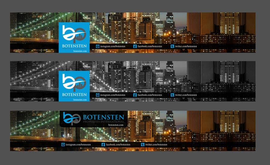 Inscrição nº 27 do Concurso para Design Youtube Cover for NYC Real Estate Firm
