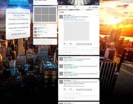 #29 para Design Twitter Background for NYC Real Estate Firm por NenadKaevik