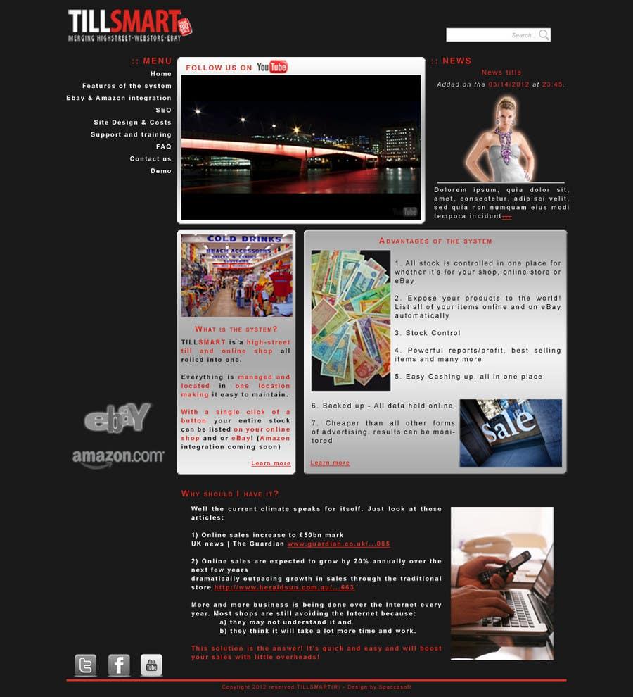 Contest Entry #                                        2                                      for                                         Website Design for TillSmart