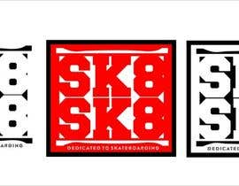 nº 35 pour Skateboarding logo contest (read the project description) par lipvoreg