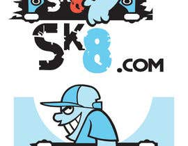 #188 for Skateboarding logo contest (read the project description) by jayteebee