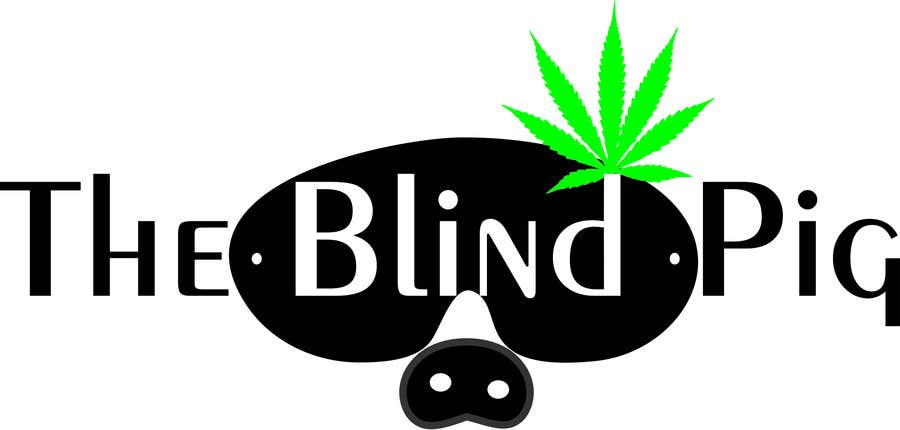 """#8 for Design a Logo for """"The Blind Pig"""" - A Marijuana Retail Store by onicamarius"""