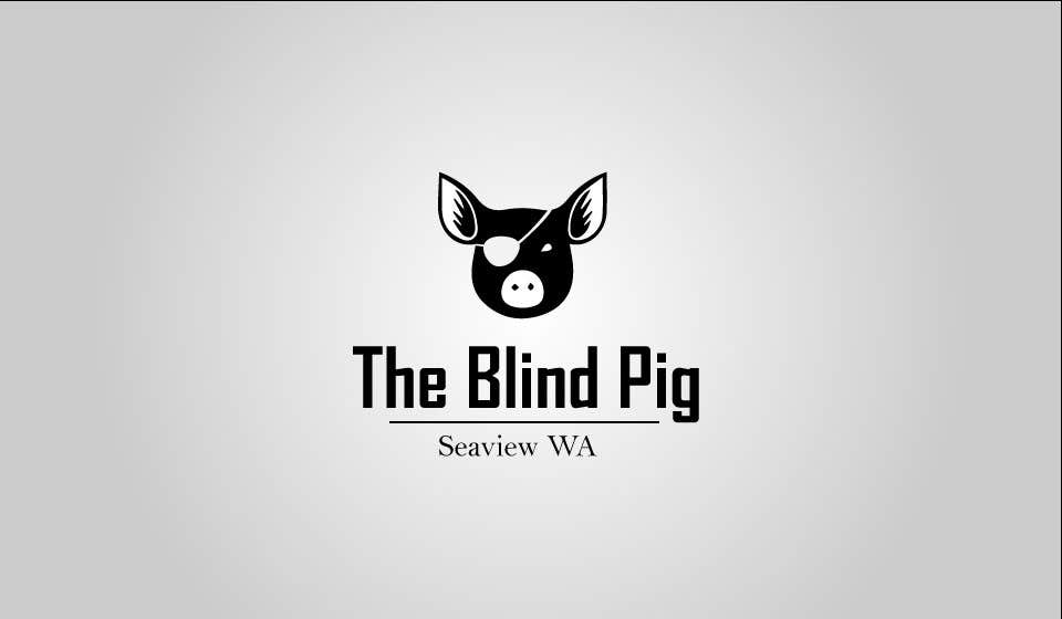 """#38 for Design a Logo for """"The Blind Pig"""" - A Marijuana Retail Store by redkanvas"""