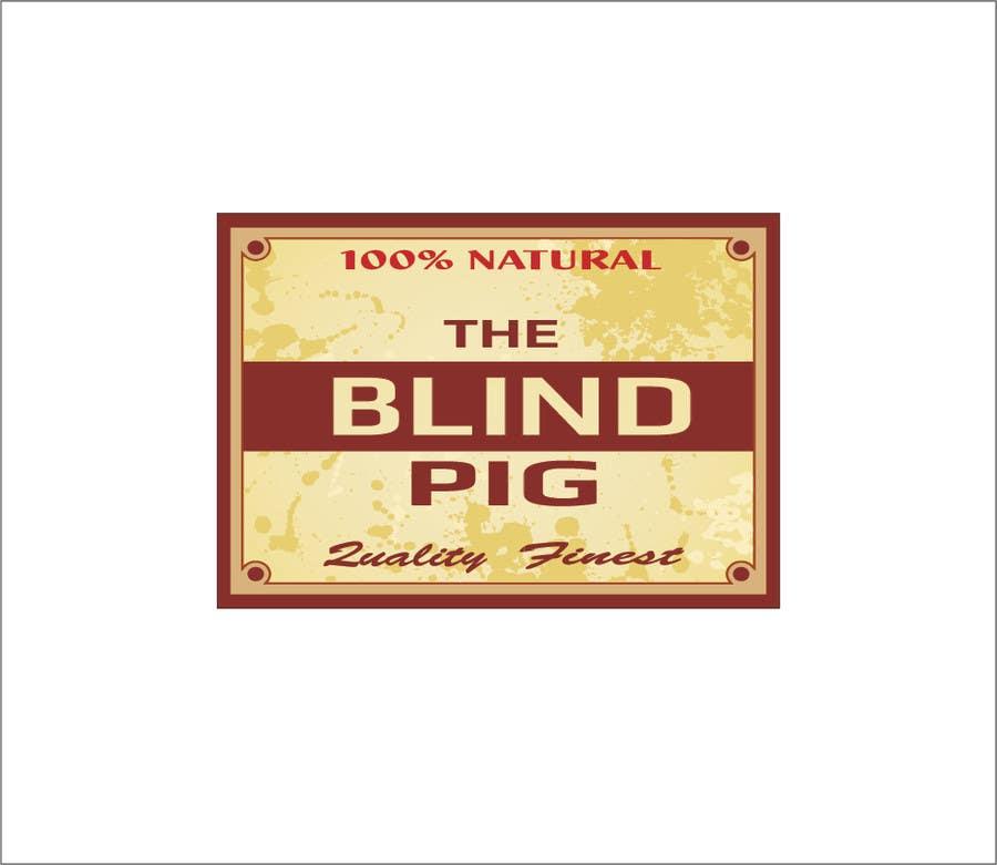 "#67 for Design a Logo for ""The Blind Pig"" - A Marijuana Retail Store by izabela357"