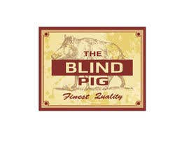"#94 untuk Design a Logo for ""The Blind Pig"" - A Marijuana Retail Store oleh izabela357"