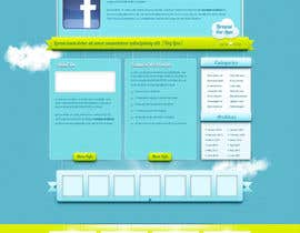 #15 untuk Wordpress Theme Design for FB App Spot oleh watson435