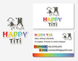 Vanai tarafından Logo and Business Card for Happy Titi (baby-sitting) için no 15