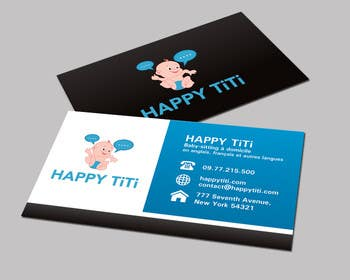 #50 para Logo and Business Card for Happy Titi (baby-sitting) por tedi1
