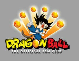 nº 24 pour Dragonball the official fan club par ninoblackwhite