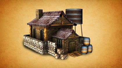 #4 for Graphic designer/artist needed for drawing 16th century architecture/enviroment by clementalwin